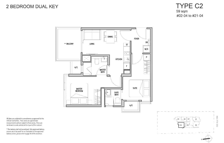 RV-Altitude-Floor-Plan-2-Bedroom-Dual-key-C2