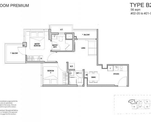 RV-Altitude-Floor-Plan-2-Bedroom-Premium-B2